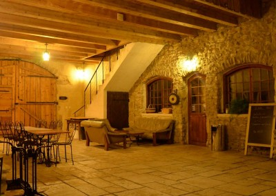 Porche par nuit