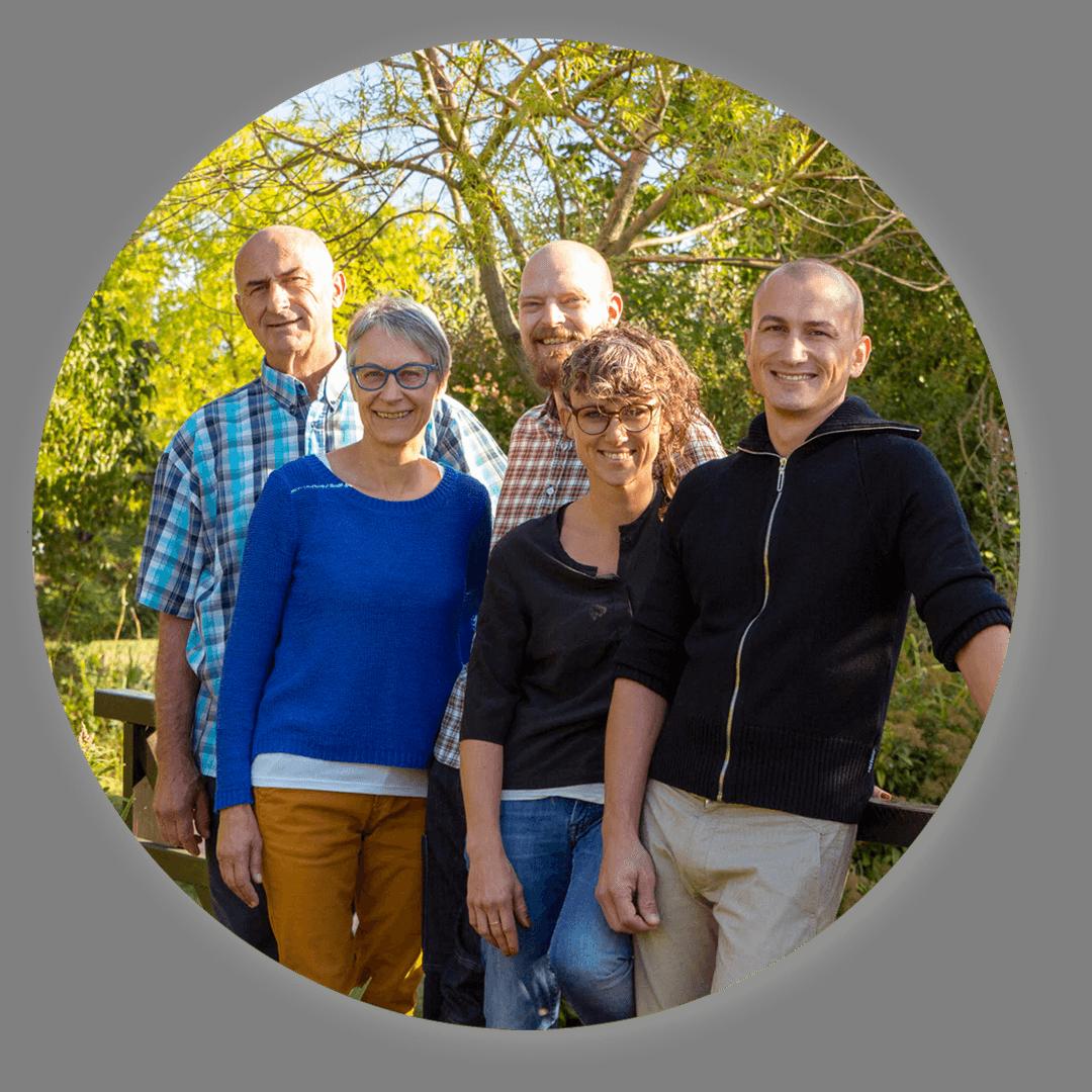 Martin Kesselring et sa famille