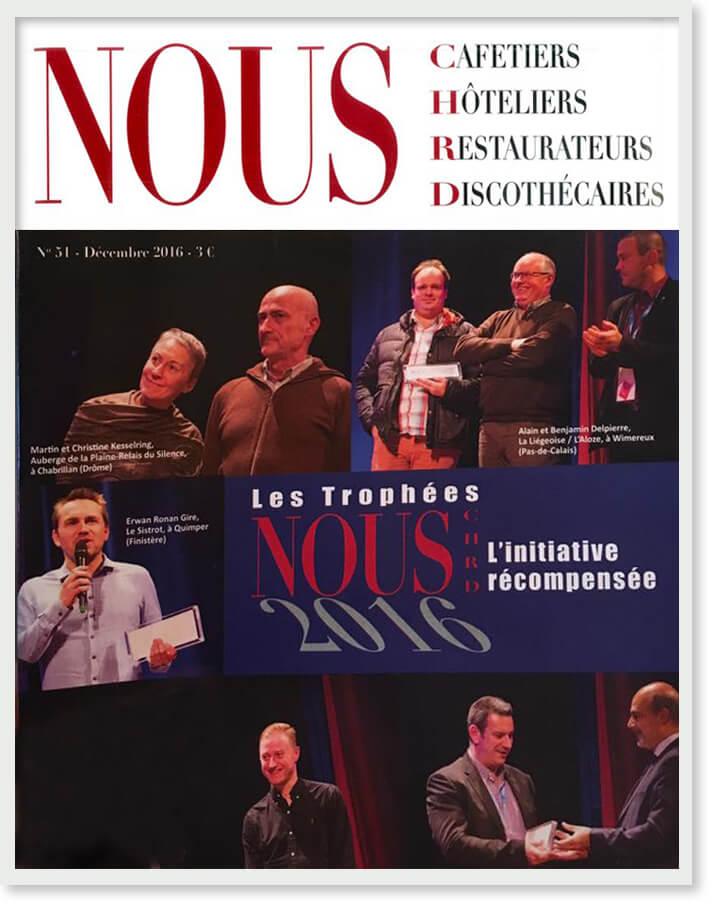 Magazine NOUS CHRD