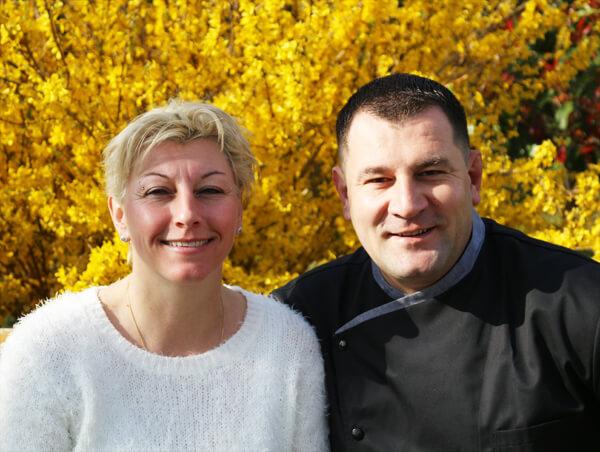 Yannick Murcia et Valérie Simonet